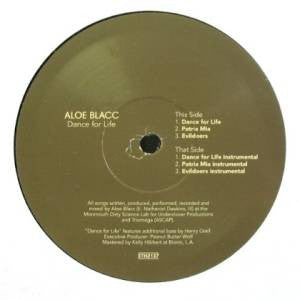 "Aloe Blacc - Dance For Life, 12"" Vinyl - The Giant Peach"