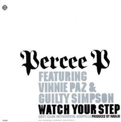 "Percee P - Watch Your Step, 12"" Vinyl - The Giant Peach"