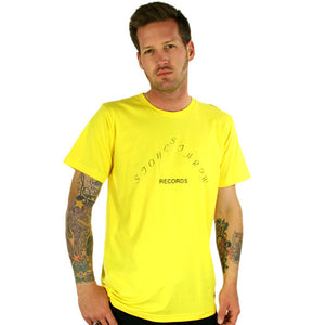 Stones Throw - 1973 Men's Shirt, Yellow - The Giant Peach