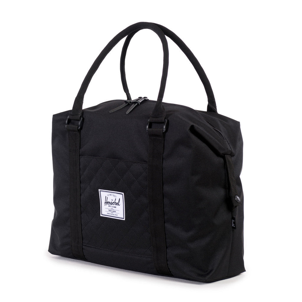 Herschel Supply Co. - Strand Duffle, Black Quilted - The Giant Peach - 2