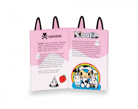 tokidoki - Strawberry Milk Moofia Sticky Note Booklet