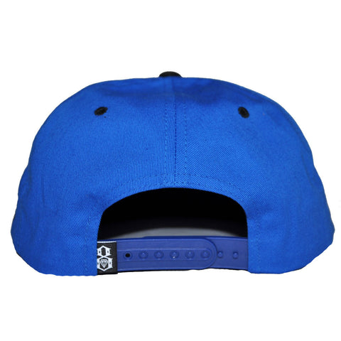 REBEL8 - Strike First Snapback Hat, Royal