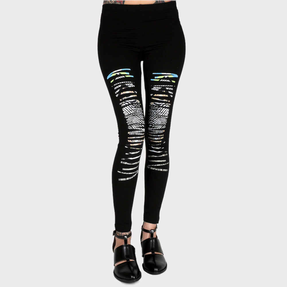 OBEY - Lorelei Women's Leggings, Black - The Giant Peach