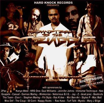 Hard Knock Records Presents - Soundtrack to the Struggle. Mixed CD