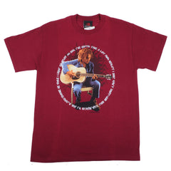 Bob Marley - Strum Shirt, Burgundy - The Giant Peach