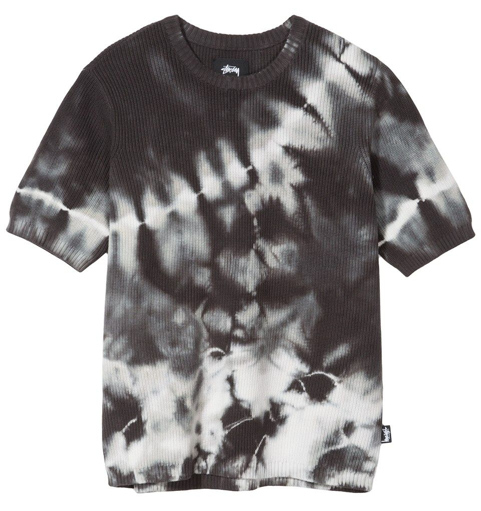 Stussy - Gracie Tie Dye Women's Crew Sweater, Black
