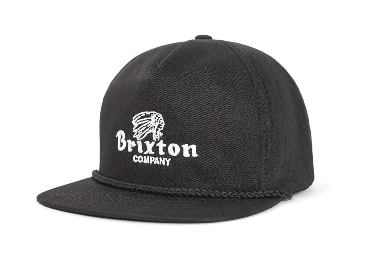 Brixton - Tanka HP Men's Snapback, Black - The Giant Peach