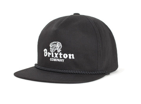 Brixton - Tanka HP Men's Snapback, Black