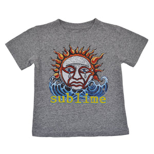 Sublime - Logo Toddler Tee, Heather Grey - The Giant Peach