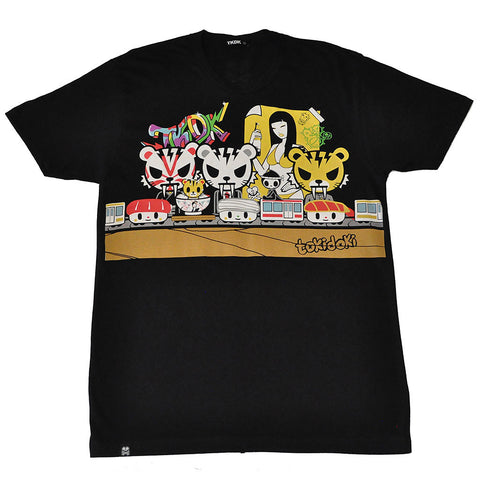 tokidoki TKDK - Sugar Fish Men's Shirt, Black