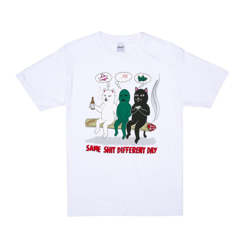 RIPNDIP - Same Dreams Men's Tee, White