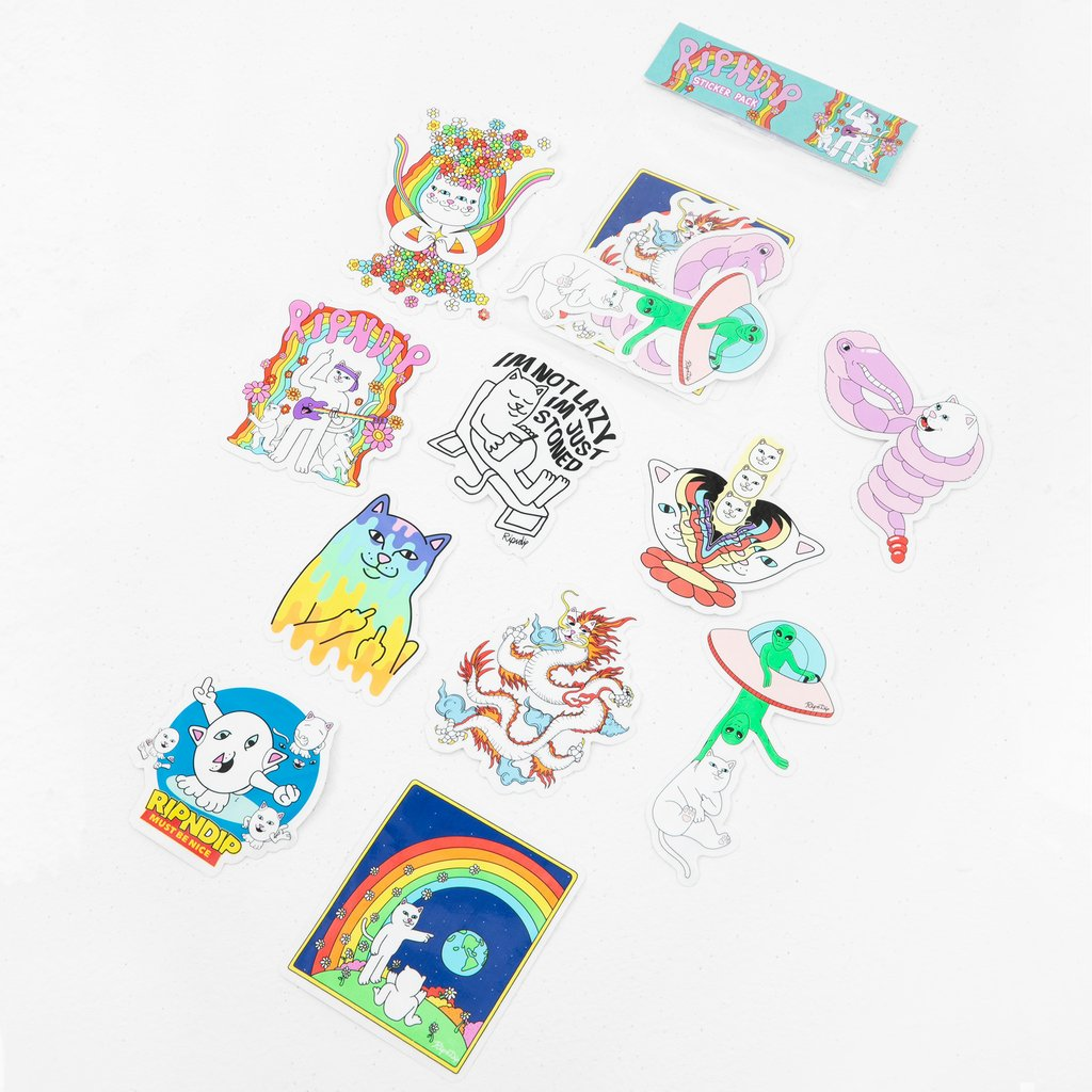 RIPNDIP - Summer 2020 Sticker Pack