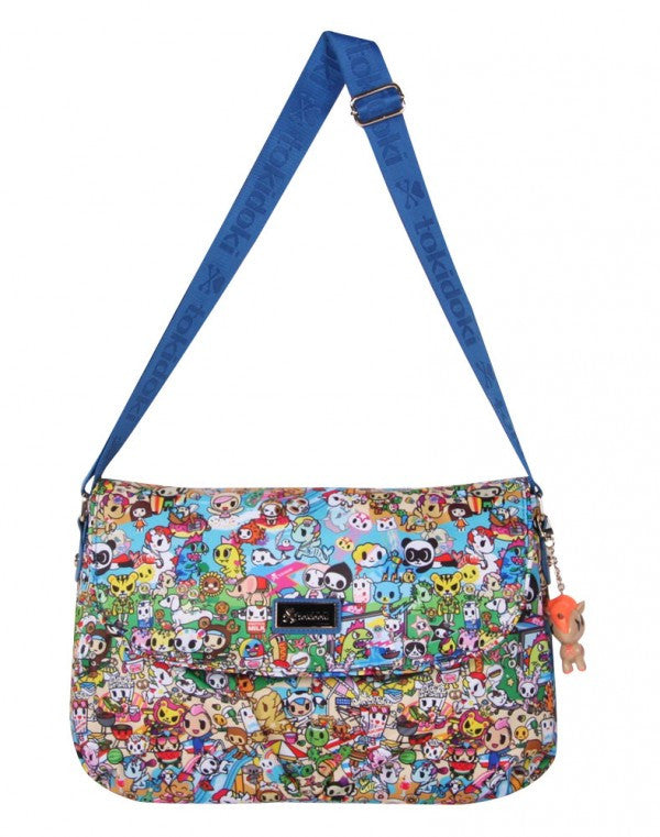 tokidoki - Summer Splash Messenger Bag - The Giant Peach - 2