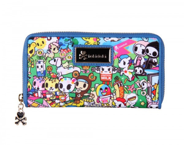 tokidoki - Summer Splash Large Wallet - The Giant Peach - 1