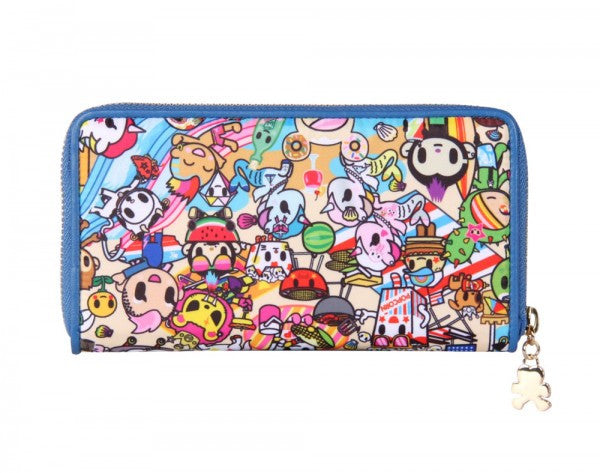 tokidoki - Summer Splash Large Wallet - The Giant Peach - 3