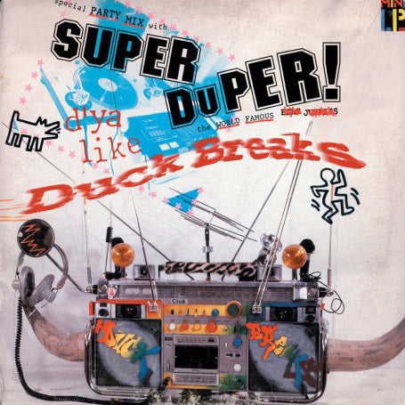 Tablist - Super Duper Duck Breaks, LP Vinyl - The Giant Peach
