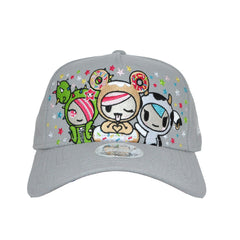 tokidoki - Super Confetti Snapback Hat, Grey - The Giant Peach