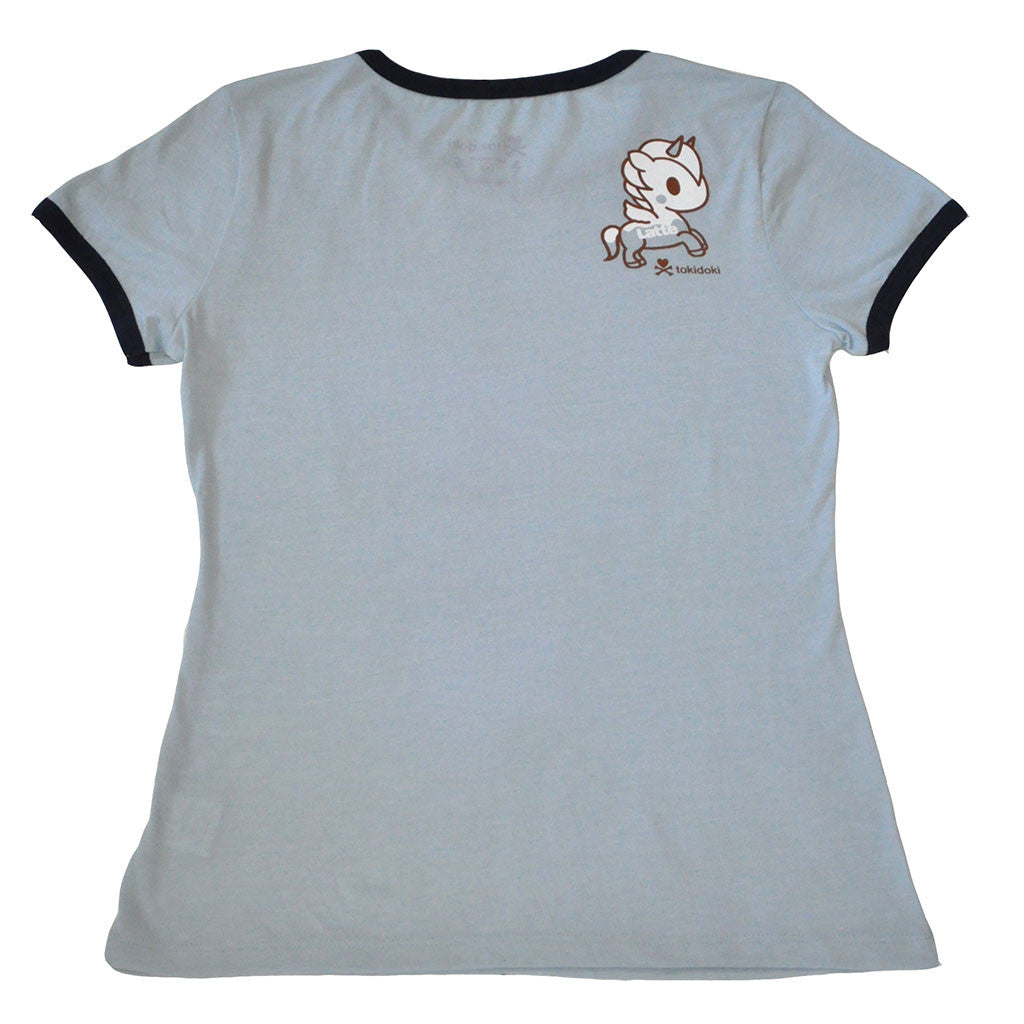 tokidoki - Super Ramen Women's Tee, Blue Heather Grey - The Giant Peach - 2