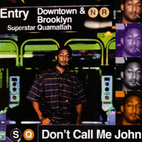 "Superstar Quamallah - Don't Call Me John EP, 12"" Vinyl"