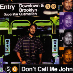 "Superstar Quamallah - Don't Call Me John EP, 12"" Vinyl - The Giant Peach"