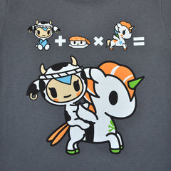 tokidoki - Super Sushi Women's Tee, Storm - The Giant Peach