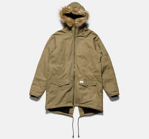 10Deep - Surplus Snorkel Men's Jacket, Army - The Giant Peach
