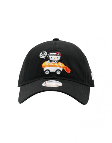 tokidoki x Hello Kitty- Sushi Car Snapback Hat, Black