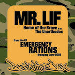 "Mr. Lif - Home Of The Brave, 12"" Vinyl - The Giant Peach"