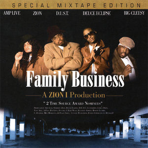 Zion-I - Family Business, Mixed CD - The Giant Peach
