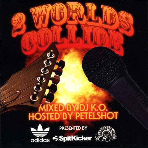 Spitkicker - 2 Worlds Collide, Mixed CD - The Giant Peach