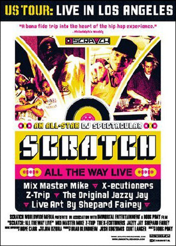 Scratch - All The Way Live, DVD