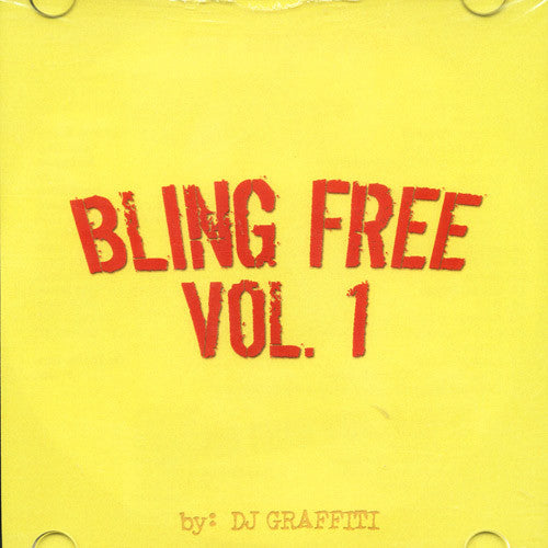 DJ Graffiti - Bling Free Volume 1, CD - The Giant Peach