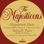 "Majesticons - Majestwest Party b/w Suburb Party, 12"" Vinyl - The Giant Peach"