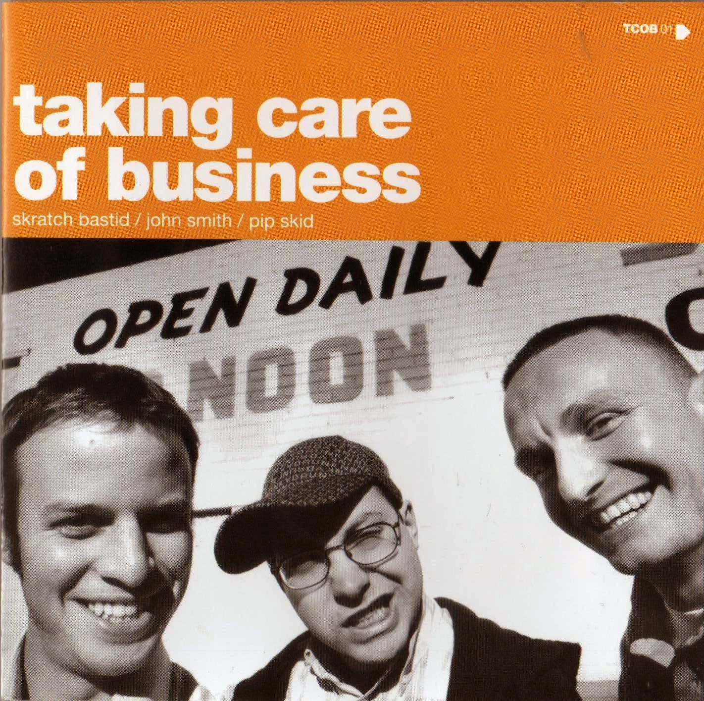 Skratch Bastid, Pip Skid, John Smith - Taking Care of Business, CD - The Giant Peach