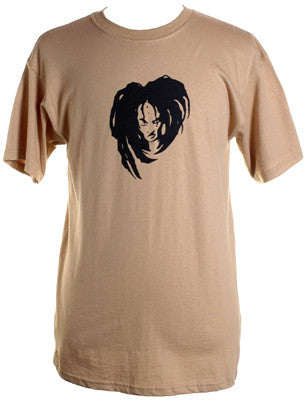 Mr. Lif - Logo Shirt, Tan - The Giant Peach
