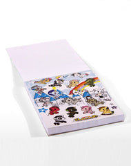 tokidoki -  Unicorno Tear Out Notepad - The Giant Peach