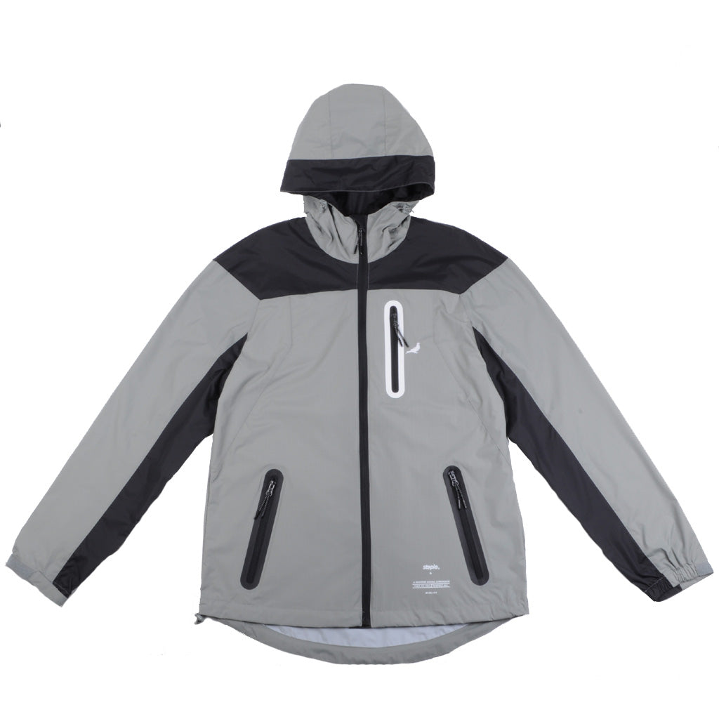 Staple - Tech Men's Jacket, Grey - The Giant Peach