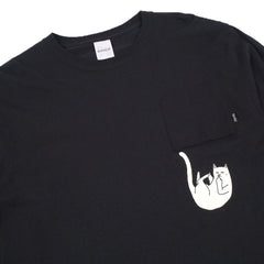 RIPNDIP - Falling for Nermal Men's L/S Shirt, Black