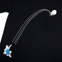 RIPNDIP - Hoops Pocket Men's Tee, Black