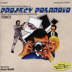 TOMC3 & Kool Keith - Project Polaroid, CD - The Giant Peach