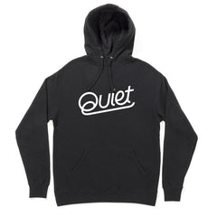 The Quiet Life - Quiet Pullover Men's Hoodie, Black - The Giant Peach