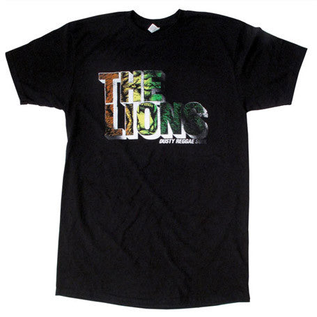 The Lions - Men's Shirt, Black - The Giant Peach