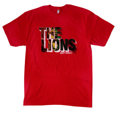 The Lions - Men's Shirt, Red - The Giant Peach
