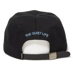 The Quiet Life - Arrangement Men's Polo Hat, Black - The Giant Peach - 2