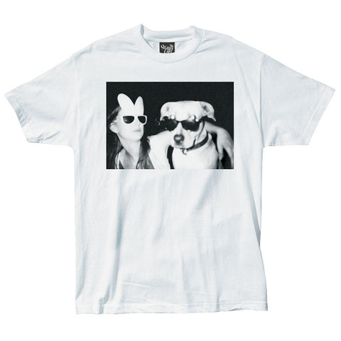 The Quiet Life - Doggy Photo Men's Shirt, White