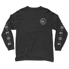 The Quiet Life - Garcia Logo Men's L/S Shirt, Black - The Giant Peach - 1