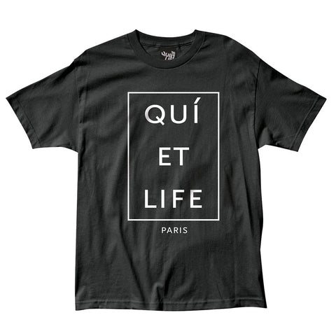 The Quiet Life - Paris Men's Shirt, Black