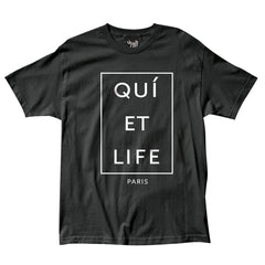 The Quiet Life - Paris Men's Shirt, Black - The Giant Peach