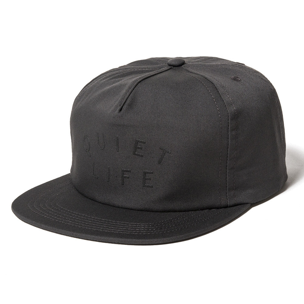 The Quiet Life - Standard Relaxed Men's Snapback, Charcoal - The Giant Peach