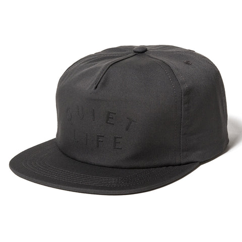 The Quiet Life - Standard Relaxed Men's Snapback, Charcoal